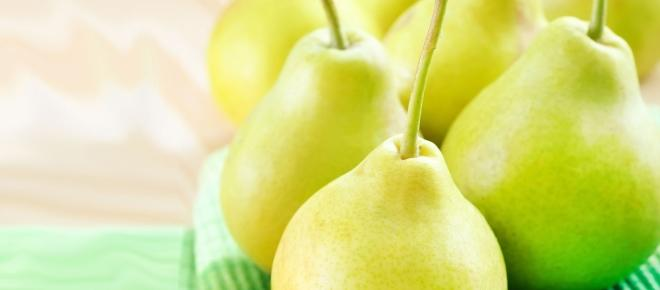 The health benefits of eating pears
