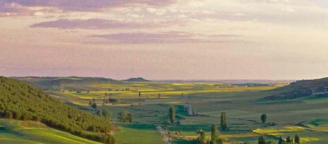 Viajando por los desconocidos Montes Torozos entre Valladolid y Palencia