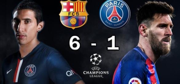 Barcelona pasa a cuartos de final de la liga de campeones, dejando a PSG fuera by Fox News