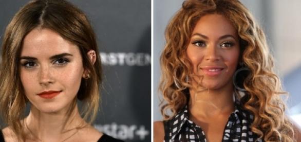Guerra entre beldades: Emma Watson e Beyoncé
