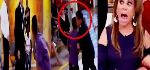 Homem ataca convidado e Christina Rocha fica desesperada; vídeo