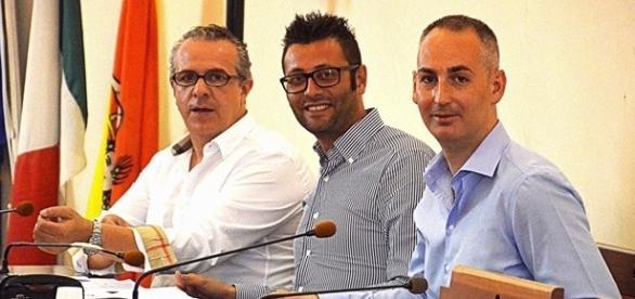 I consiglieri comunali di opposizione a Noto Ferrero, Pintaldi e Rosa