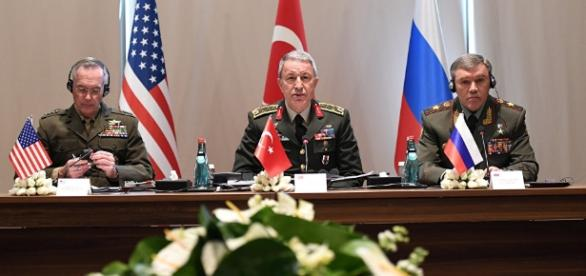 US Joint Chiefs Chair Meets Russian, Turkish Counterparts on ... - sputniknews.com