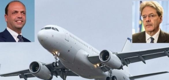 Alfano per 27 volte in 6 mesi in Sicilia con un volo di Stato