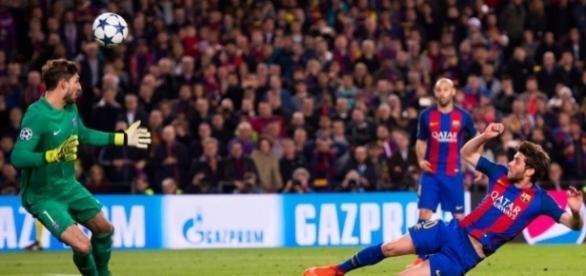 Barcelona 6 Paris Saint-Germain 1 (agg 6-5): Sergi Roberto's last ... - thesun.co.uk