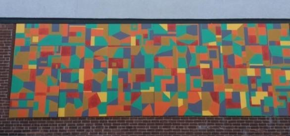 Caryn Azoff has created public murals. / Photo via Caryn Azoff, used with permission.