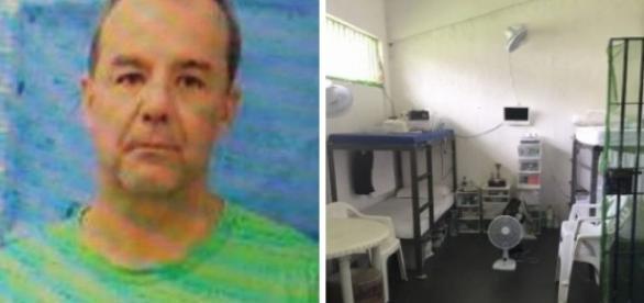 Ex-detento disse ter visto várias mordomias para Cabral