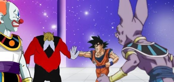 ¿Estará Goku sacando su lado malo?