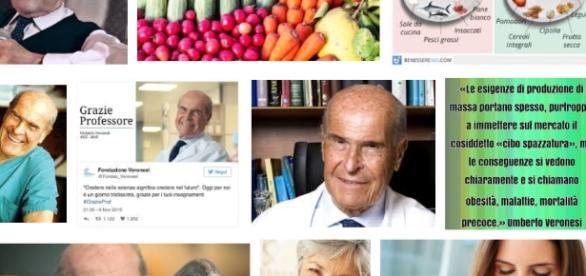 Gli elementi anti cancro della dieta Umberto Veronesi