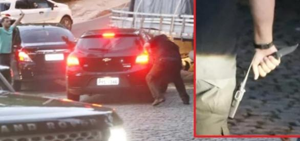 Atentado? Segurança de Justin Bieber ataca fãs do cantor com faca e tudo acaba mal