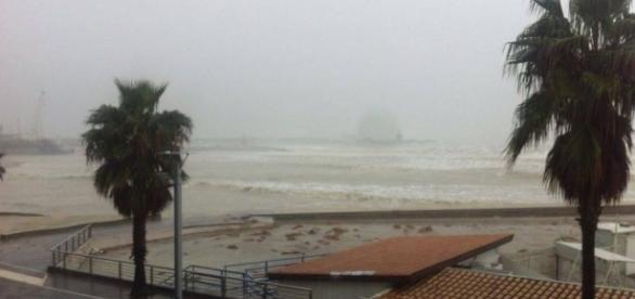 Nuova ondata di maltempo sulla regione Calabria.