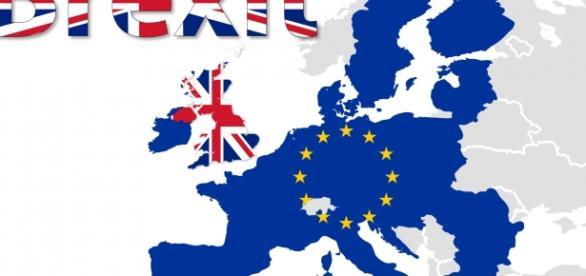 Plastica immagine della Brexit (Foto dal WEB)