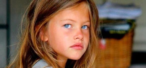 Thylane Blondeau, a criança considerada a mais linda do mundo