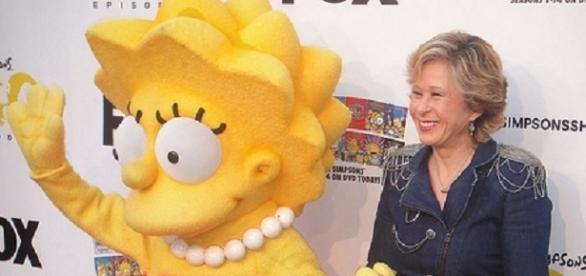Yeardley Smith as Lisa in The Simpsons