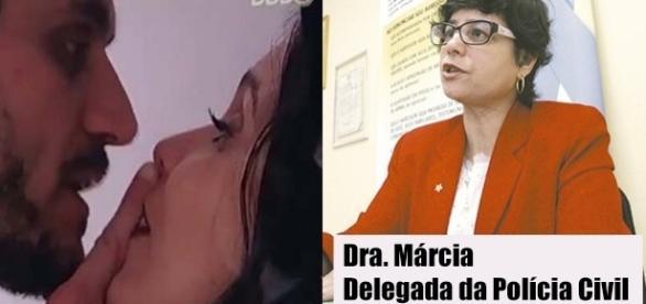 Caso de Marcos e Emilly virou caso de polícia. (Foto: Reprodução/TV Globo)