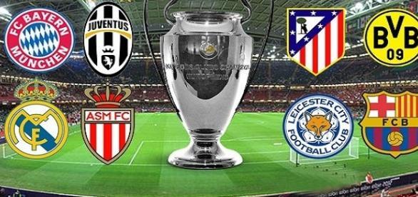 el Borusia recibe al Mónaco y la Juventus frente al Barcelona