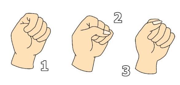 La façon de serrer votre poing révèle votre personnalité !