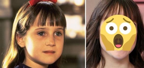 Matilda está 20 anos mais velha