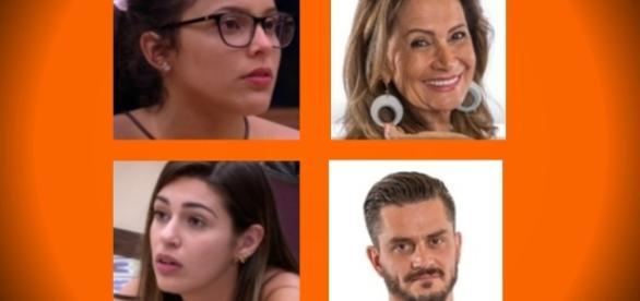 Os quatro últimos participantes do BBB17 estão confiantes