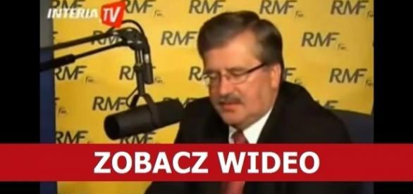 Ówczesny marszałek Sejmu Bronisław Komorowski udzielił bardzo dziwnego wywiadu.