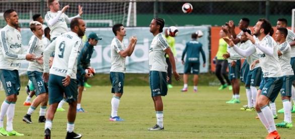 Palmeiras treina e se prepara para as semifinais do Paulistão