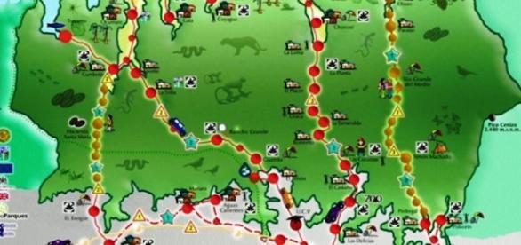 Parque Nacional Henri Pittier, en el estado Aragua.
