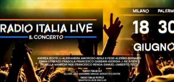 Radio Italia - il grande concerto a Milano e Palermo