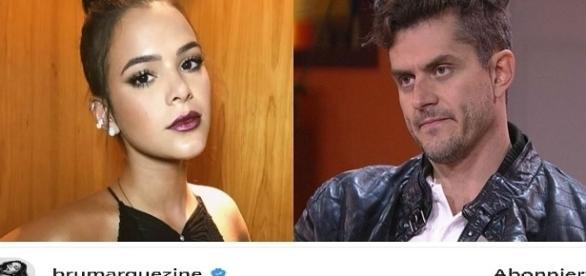 Bruna Marquezine também comentou atitude de Marcos