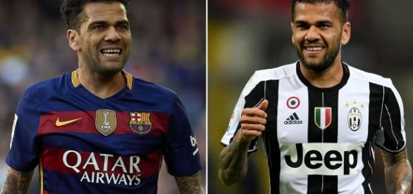 entre Alves de Barcelone et celui de Juventus.....