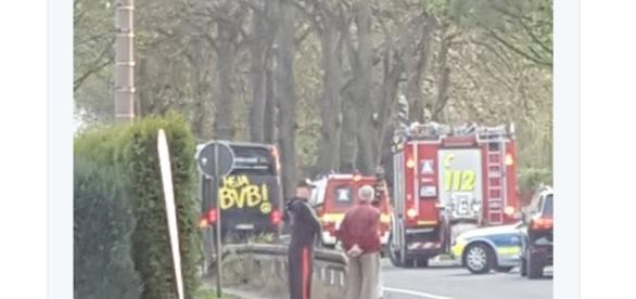 Explosões atingiram o ônibus do time de futebol do Borussia Dortmund.