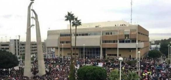 Marchan en Mexicali contra el gasolinazo   El Diario - diario.mx