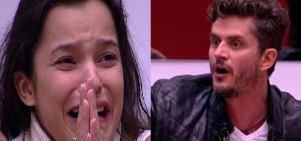 Marcos é punido por agressão (Foto: reprodução TV Globo)