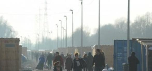 Mehdi Chebil, FRANCE 24 (file photo) | The Grande-Synthe camp.