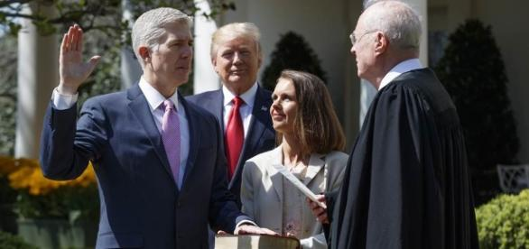 Neil Gorsuch Sworn In as Supreme Court Justice - NBC News - nbcnews.com