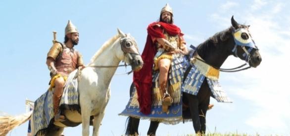 Um dos cavalos utilizados nas cenas de batalha acarretou na confusão que assustou atores e figurantes
