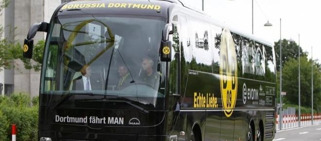 BVB-Angst: Bomben explodieren und beschädigen Mannschaftsbus