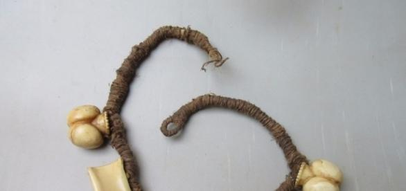 A Fijian Breast Ornament 'Tabua' made from the tooth of a sperm ... - pinterest.com
