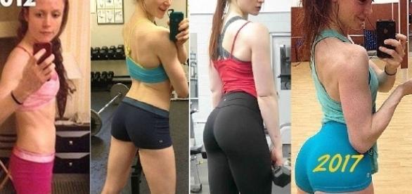 Blogueira fitness aparece com bumbum gigante e muitos usuários desconfiam dela