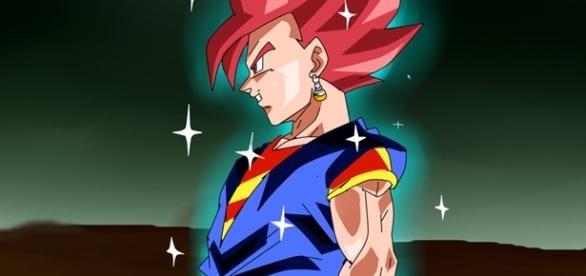 Dragón Ball Súper: Vegetto dios rojo