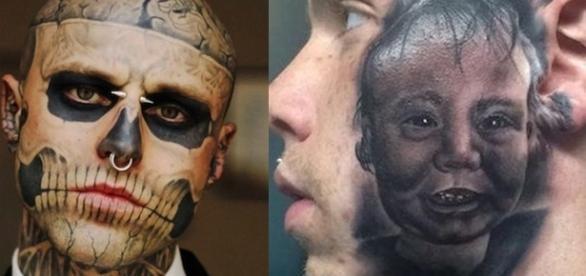 Eles foram ao extremo por causa de suas tatuagens