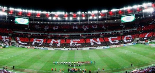 Estreia do Flamengo na Libertadores Reprodução/TV Globo