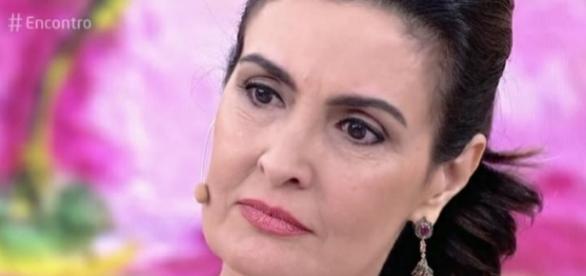 Fátima Bernardes ficou sem jeito