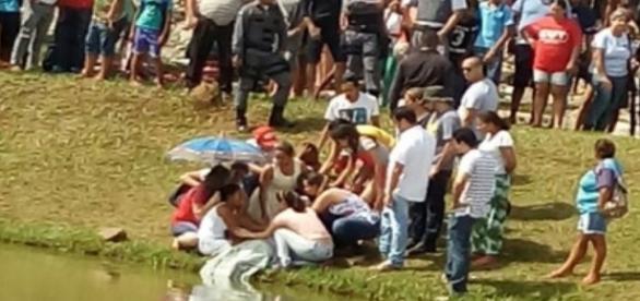 Garota foi encontrada morta dentro de uma lagoa, em Cuiabá