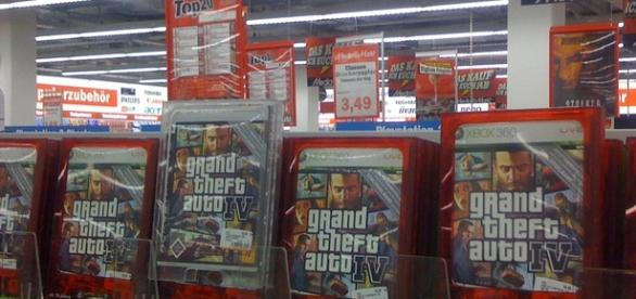 Grand Theft Auto/ Photo via GillyBerlin, Flickr