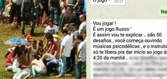 """Jogo """"Baleia Azul"""" faz vítima no Brasil"""