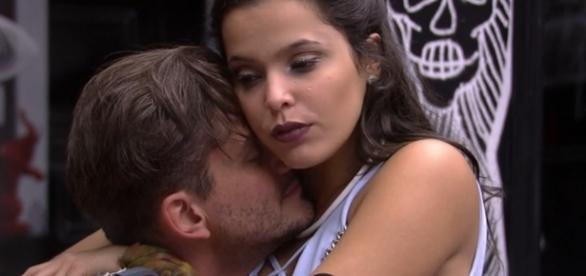 "O casal que mais ""causou"" no Big Brother Brasil 17: Marcos e Emilly"