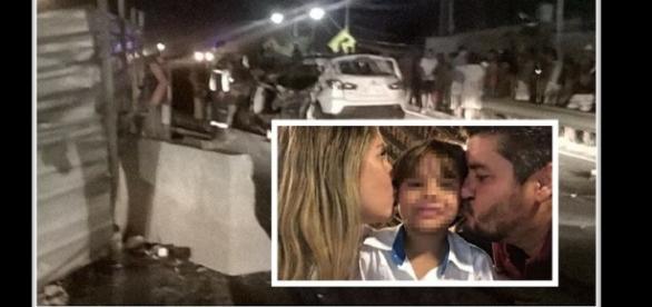 Tragédia na Bahia: morre esposa e filhinho do presidente do PHS
