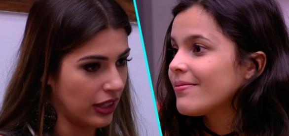Vivian cresce em popularidade na disputa com Emilly, na final do BBB 17 (Foto: Reprodução)
