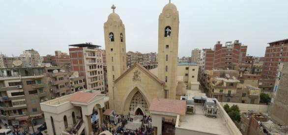Coptic Christians mourn their dead