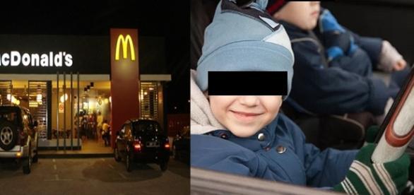 Criança de 8 anos pegou no carro dos pais e foi com a irmã comer um lanche